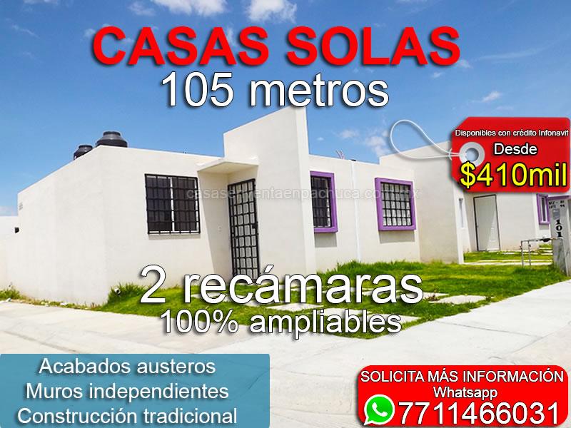 Casas En Venta En Pachuca 2 Recamaras Con Credito Infonavit